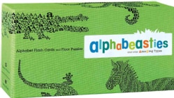 Alphabeasties and Other Amazing Types: Alphabet Flash Cards and Floor Puzzles (Cards)