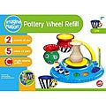 NSI Imagine Nation Pottery Wheel Non-toxic Clay and