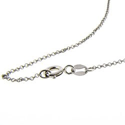 Dolce Giavonna Sterling Silver Onyx and 1/4ct TDW Diamond Necklace (J-K, I-3)
