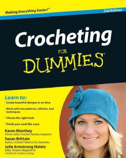 Crocheting for Dummies (Paperback)