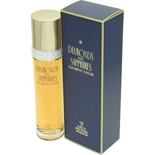 Diamonds and Sapphires Women's 1.7-ounce Eau de Toilette Spray