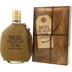 Diesel Fuel For Life Men's 2.5-ounce Eau de Toilette Spray