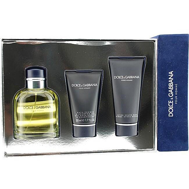 Dolce & Gabbana Men's 3-piece Fragrance Set