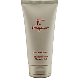 Ferragamo 'F' Men's 5-oz Shower Gel