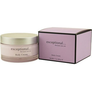 Exceptional 'Because You Are' Women's 7-ounce Body Cream