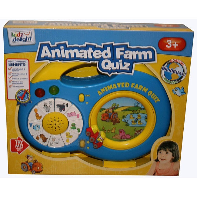 Animated Farm Quiz