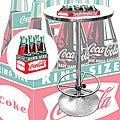 Coca Cola Collectible Pub Table