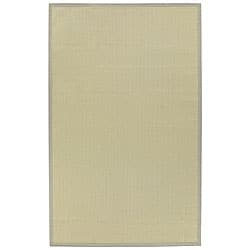 Machine-made Indoor/ Outdoor Beige Rug (5' x 8')