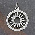 Sterling Silver 'Sun' Pendant (Thailand)