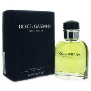 Dolce Gabbana Men's 2.5-ounce Eau de Toilette Spray