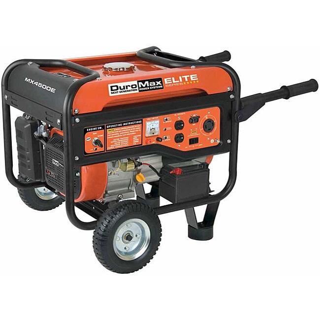 DuroMax Elite Series 4500-watt 7Hp Gas Generator