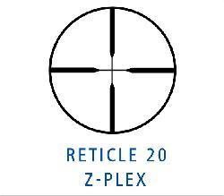 Zeiss Conquest 6.5-20x50mm Z-Plex Reticle Target Rifle Scope