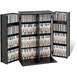 Broadway Locking DVD/CD Media Storage Cabinet