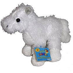 Webkinz American Albino and Cards Set