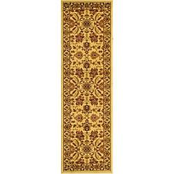 Safavieh Lyndhurst Collection Heritage Ivory/ Ivory Runner (2'3 x 14')