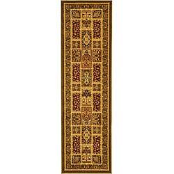Safavieh Lyndhurst Collection Isfan Green/ Multi Runner (2'3 x 16')