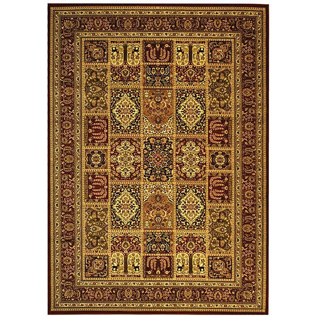 Lyndhurst Collection Isfan Red/ Multi Rug (6 X 9)