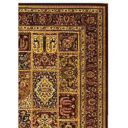 Lyndhurst Collection Isfan Red/ Multi Rug (6' x 9')