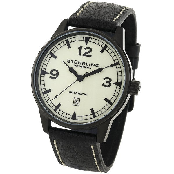 Stuhrling Original Men's Tuskegee 22-Jewel Automatic Watch