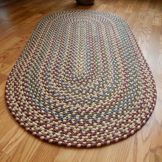 "Jefferson Indoor/Outdoor Braided Rug (2'3"" x 4')"