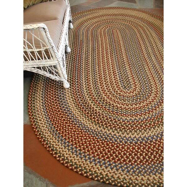 Monticello Indoor / Outdoor Braided Area Rug (5'6 x 8'6)