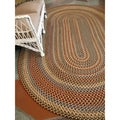 Jefferson Indoor/ Outdoor Braided Rug (7'4 x 9'4)