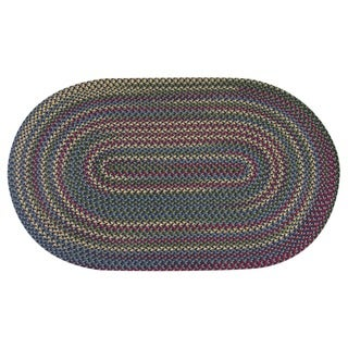 Jefferson Indoor/Outdoor Braided Polypropylene/Nylon Rug (3'6