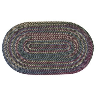 Jefferson Indoor/ Outdoor Braided Rug (5'6 x 8'6)