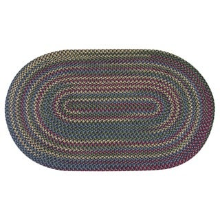 Jefferson Indoor/ Outdoor Braided Rug (5'6 x 8'6)