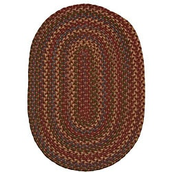 "Jefferson Indoor/Outdoor Braided Country Oval Rug (2'3"" x 4')"