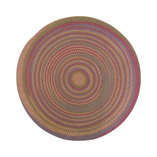 Jefferson Indoor/ Outdoor Braided Rug (6' Round)