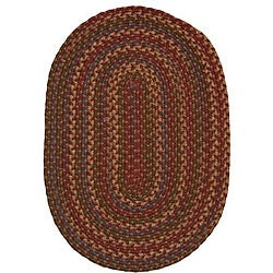 Jefferson Indoor/Outdoor Country Braided Rug (2' x 9')