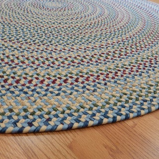 Jefferson Transitional Indoor/Outdoor Braided Rug (6' Round)