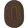"Traditional Jefferson Indoor/Outdoor Braided Rug (2'3"" x 4')"