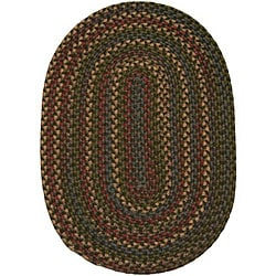 Jefferson Indoor/Outdoor Braided Oval Rug (5'6
