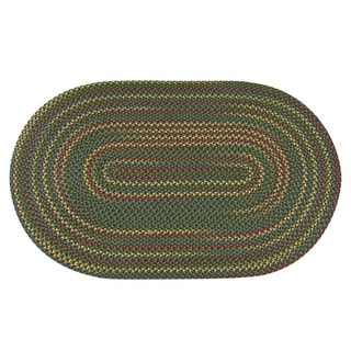 Jefferson Indoor/Outdoor Braided Area Rug (7'4 x 9'4)