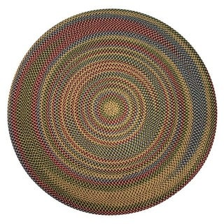 Jefferson Reversible Indoor/Outdoor Braided Rug (6' Round)