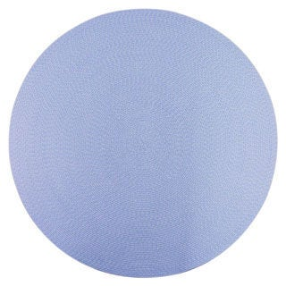 Lemonade Indoor/ Outdoor Blue Braided Rug (8&#39; Round)