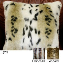 Safari Faux Fur Pillow Collection (Set of 2)