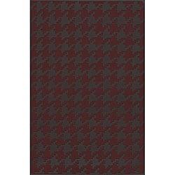 Hand-woven Camrose Wool Geometric Rug (8' x 11')