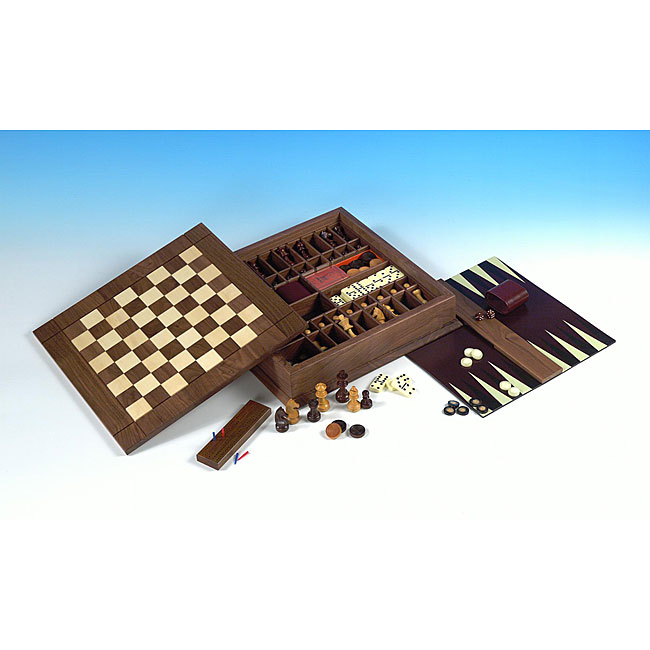 Ultra Classic Versatile Board-game Set with Heirloom-quality Box