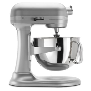 KitchenAid KP26M1XNP Nickel Pearl 6-quart Pro 600 Bowl-Lift Stand Mixer *with Rebate*