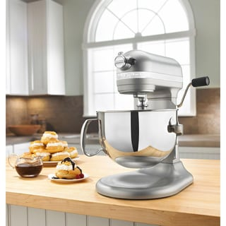 KitchenAid KP26M1XNP Nickel Pearl Pro 600 6-quart Stand Mixer ** with $50 Cash Mail-in Rebate **