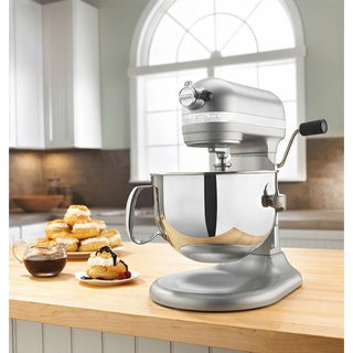 KitchenAid KP26M1XNP Nickel Pearl 6-quart Pro 600 Bowl-Lift Stand Mixer **with Rebate**