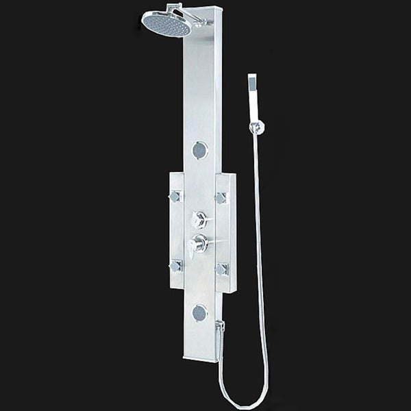 Kiliv Rainfall Jets Stainless Steel Shower Tower Panel
