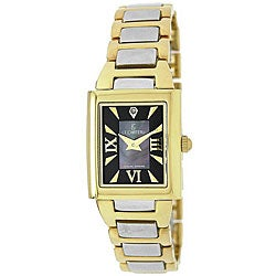 Le Chateau Women's Two-tone Diamond Accented Watch
