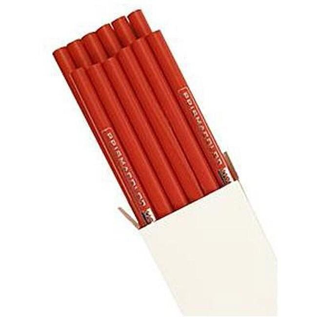 Prismacolor Premier Lightfast English Red Light Colored Pencils (Pack of 12)