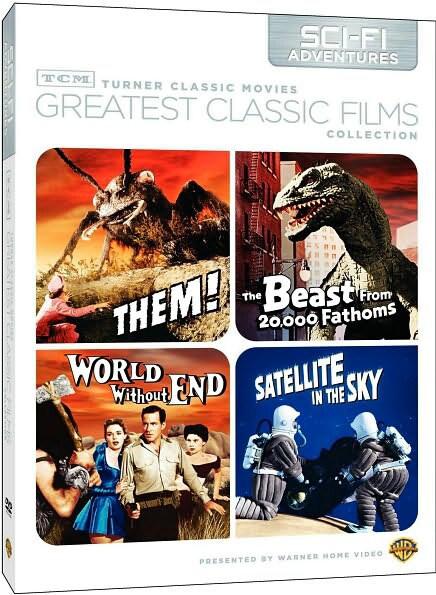 TCM Greatest Classic Films: Sci-Fi Adventures (DVD)
