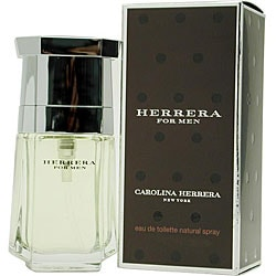 Caroline Herrera 'Herrera' Men's 1.7-ounce Eau de Toilette Spray