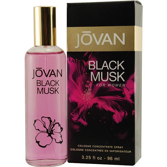 Jovan Black Musk Women's 3.25-ounce Cologne Concentrate Spray